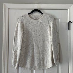 Loft XS oatmeal color sweater